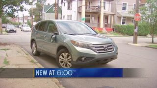 Man relieved to have his car back after masked men rip him out of it