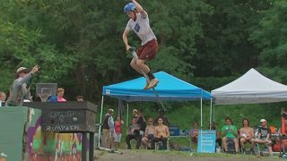 Pogopalooza bounces into Pittsburgh for pogo competition