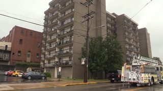 Donora Towers apartment building fire