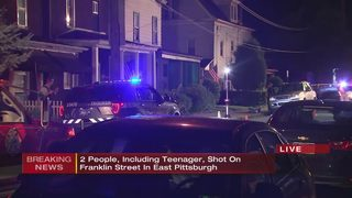 2 people shot, including 14-year-old, in East Pittsburgh