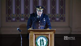 Cmdr. Christopher Ragland eulogy at Officer Hall funeral