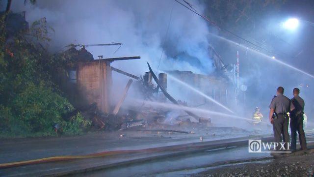 PHOTOS: Fire destroys historic Belvedere Hotel - (2/7)