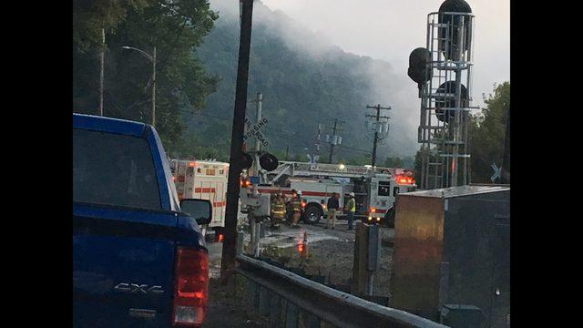 PHOTOS: Fire destroys historic Belvedere Hotel - (6/7)