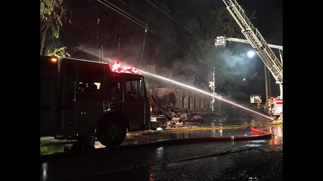 PHOTOS: Fire destroys historic Belvedere Hotel - (4/7)