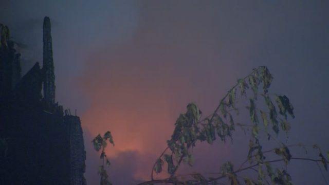 PHOTOS: Fire destroys historic Belvedere Hotel - (3/7)