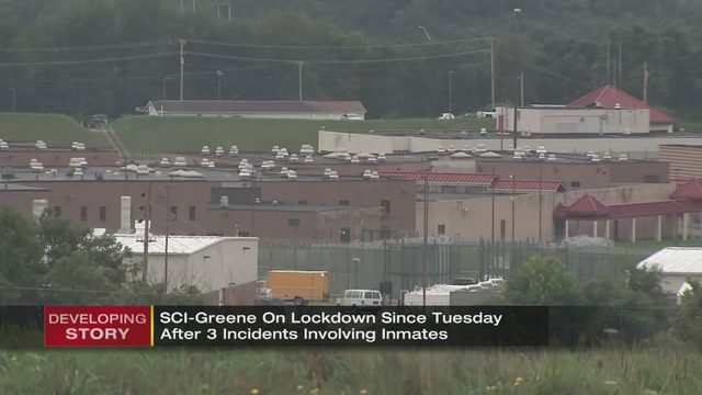 GREENE COUNTY PRISON LOCKDOWN: Greene County prison on