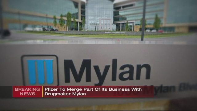 MYLAN: Pfizer will absorb Mylan to create new global