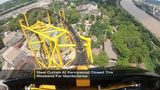 Kennywood's Steel Curtain closed rest of weekend for maintenance
