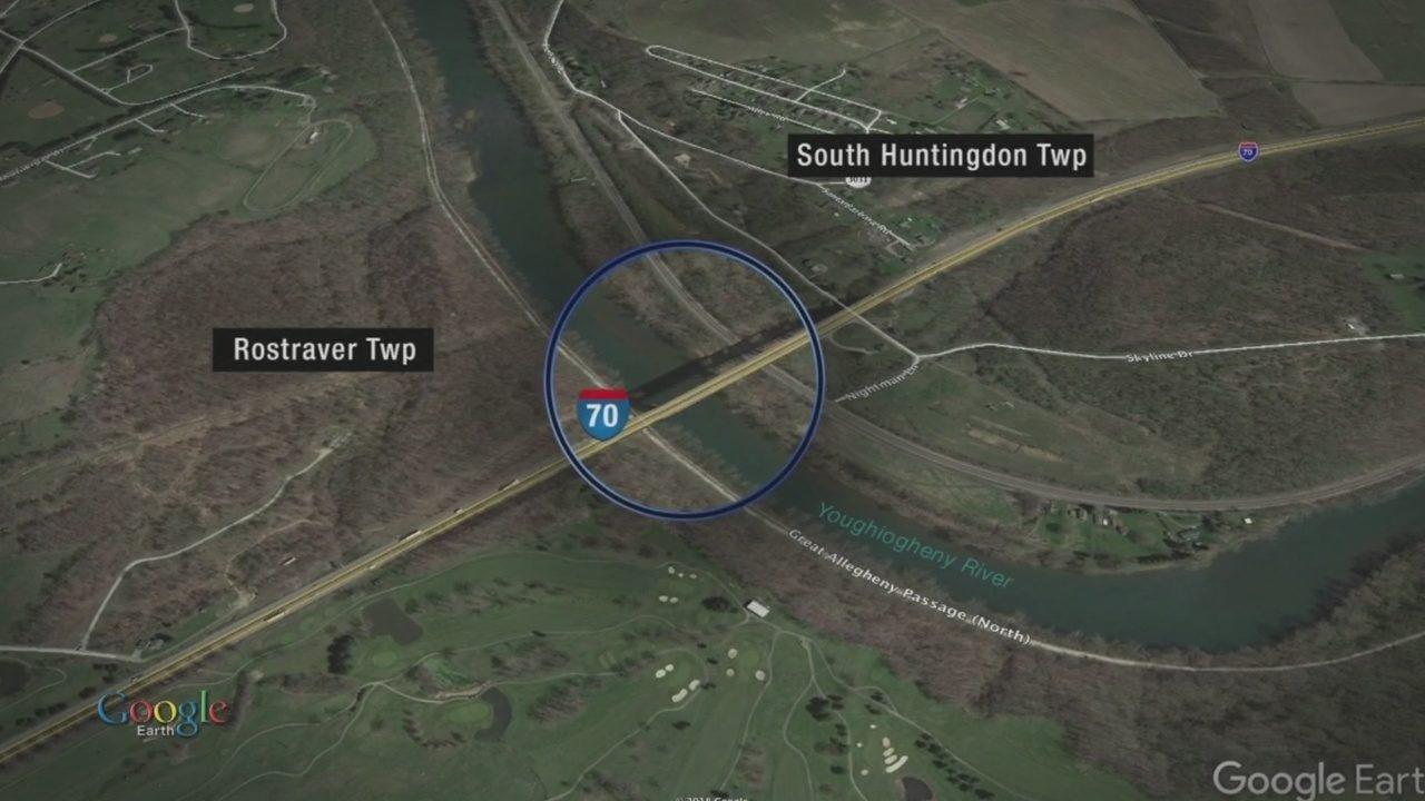 I70 CRASH: Body found in Yough River after crash on I-70