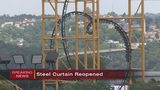 Kennywood's new Steel Curtain coaster reopens after days-long maintenance