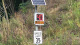 New solar power speed limit signs going up in North Hills community