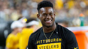 Juju Smith-Schuster at the first Pittsburgh Steeler's preseason game of the 2019-20 season.