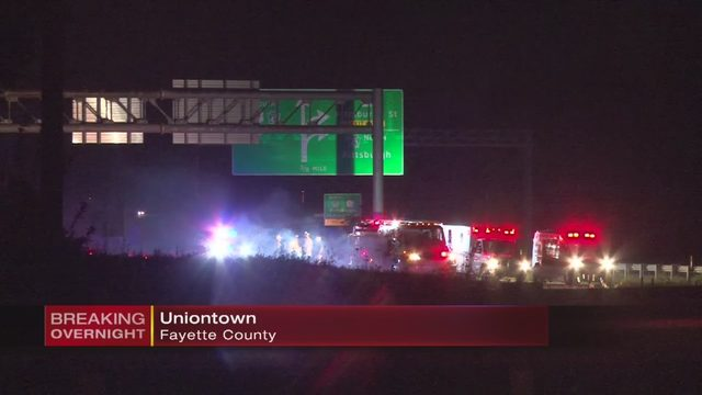 ROUTE 119 UNIONTOWN: Explosives found in car after driver