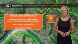 TRAFFIC - Westbound Route 30 restrictions