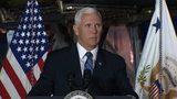 Pence sets Mars mission deadline