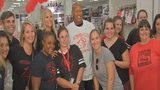 RAW VIDEO: Ryan Shazier attends back to school shopping spree