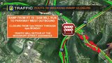 TRAFFIC: Route 19 weekend ramp closure (8/22/19)