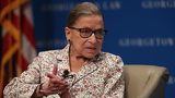 U.S. Supreme Court Associate Justice Ruth Bader Ginsburg participates in a discussion at Georgetown University Law Center July 2, 2019 in Washington, DC. (Photo by Alex Wong/Getty Images)