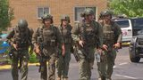 SWAT situation ends with man taken to area hospital