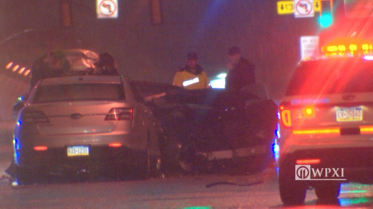 LIBERTY BRIDGE CRASH: 4 hurt in head-on crash on Liberty
