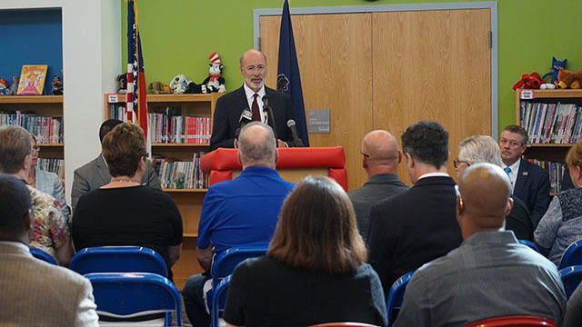 PA CHARTER SCHOOLS: Gov  Wolf outlines plan to improve Pa
