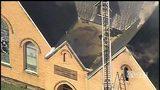 RAW VIDEO: Church fire in Sheraden