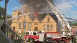 RAW VIDEO: Crews battle church fire in Sheraden