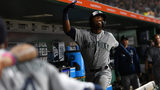 PITTSBURGH, PA - SEPTEMBER 18: Kyle Lewis #30 of the Seattle Mariners celebrates after hitting a solo home run during the fourth inning against the Pittsburgh Pirates at PNC Park on September 18, 2019 (Photo by Joe Sargent/Getty Images)