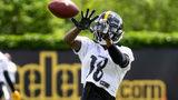 Pittsburgh Steelers Diontae Johnson (Photo by Matt Sunday / DKPS)