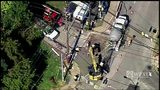 RAW: Repairs continue to water main that caused major flooding