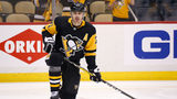 Evgeni Malkin #71 of the Pittsburgh Penguins warms up prior to the start of Game Four of the Eastern Conference Second Round during the 2018 NHL Stanley Cup Playoffs against the Washington Capitals (Photo by Kirk Irwin/Getty Images)