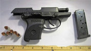 TSA agents confiscated this gun at the airport checkpoint. It's the 30th gun seized this year.