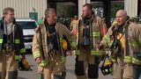RAW VIDEO: Rick Earle undergoes firefighter training