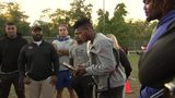 RAW: Tre Tipton's message to Hill District youth team