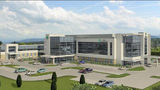 A rendering of the 120,000-square-foot AHN Hempfield Neighborhood Hospital that is being proposed in Hempfield Township, Westmoreland County, by Allegheny Health Network.
