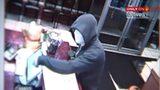 RAW: Surveillance video captures robbery suspect