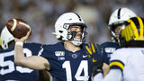 UNIVERSITY PARK, PA - OCTOBER 19: Sean Clifford #14 of the Penn State Nittany Lions passes the ball during the first quarter against the Michigan Wolverines on October 19, 2019 at Beaver Stadium (Photo by Brett Carlsen/Getty Images)