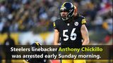 Steelers' Anthony Chickillo charged with assault after incident with girlfriend