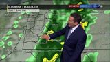 Widespread rain tapering off for Tuesday afternoon (10/22/19)