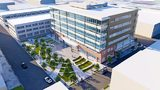 Four office buildings and three apartment buildings slated for Strip District riverfront