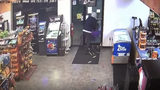Woman smashes door during armed robbery at local gas station; 2 others arrested after police chase