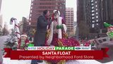 Santa Claus at the WPXI Holiday Parade Presented by Neighborhood Ford Store