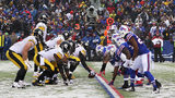 ORCHARD PARK, NY - DECEMBER 11: The Pittsburgh Steelers square off against the Buffalo Bills during the second half at New Era Field on December 11, 2016 in Orchard Park, New York. (Photo by Michael Adamucci/Getty Images)